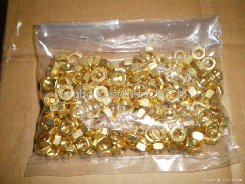 Brass hex nuts, Brass wing nuts, Brass cap nuts, Brass slotted nuts, Brass nuts 3