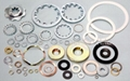Brass washers, Spring lock washers, Brass stampings, Brass components etc 2