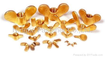 Brass bolts, Brass screws, Brass threaded rods, Brass fasteners, Brass auto part 2