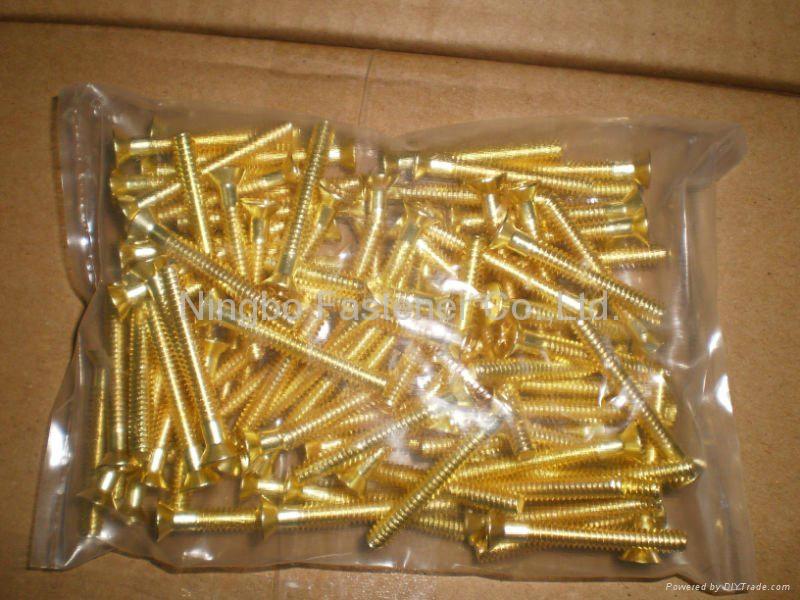 Brass bolts, Brass screws, Brass threaded rods, Brass fasteners, Brass auto part 3