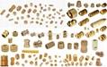 Brass bolts, Brass screws, Brass threaded rods, Brass fasteners, Brass auto part 4