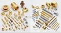 Brass fasteners, Brass bolts, Brass