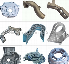 Steel casting, Sand casting, Investment casting, Die casting, A2A4 casting etc