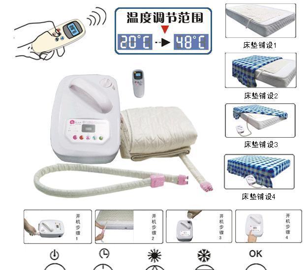 水控溫熱能床墊 2