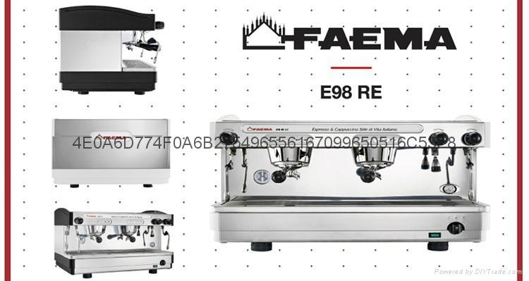 飞马双头电控半自动咖啡机 2