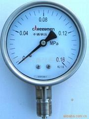 不鏽鋼壓力表