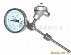 帶熱電偶熱電阻雙金屬溫度計