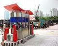 惠州厂区电动道闸 1