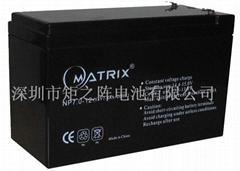 深圳12v7ah电池