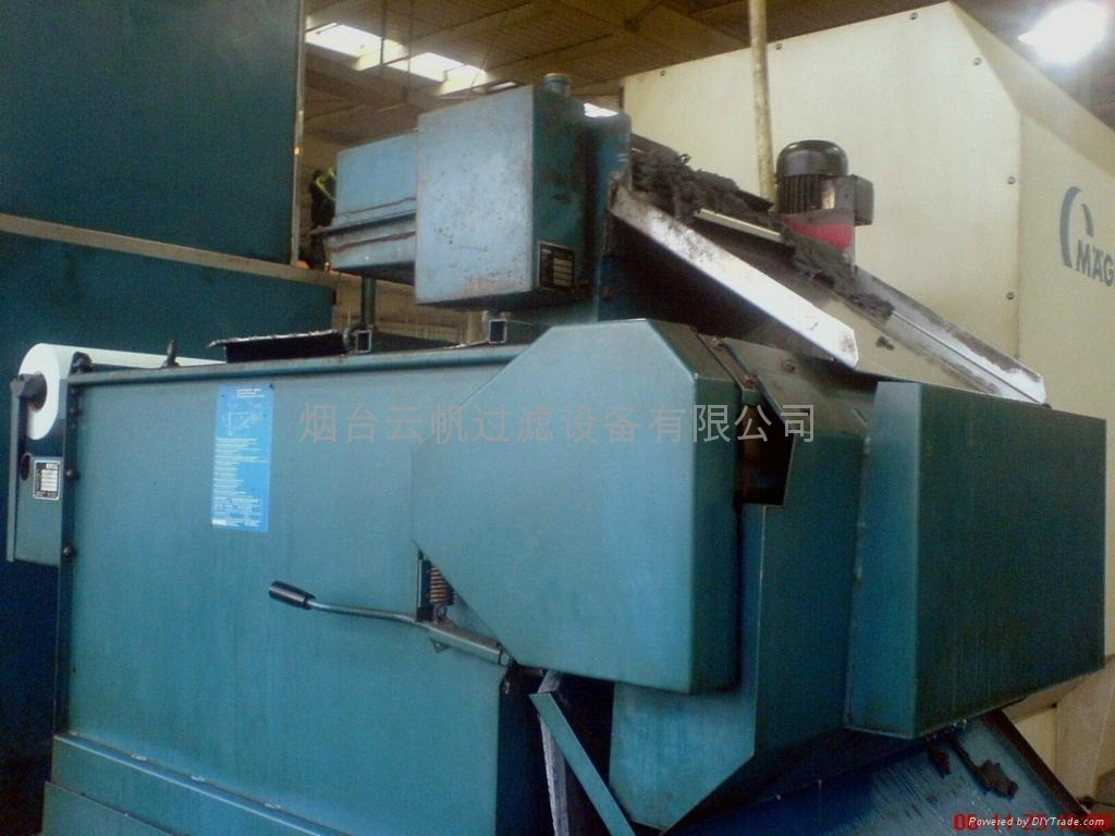 煙台機床切削過濾排屑裝置 5