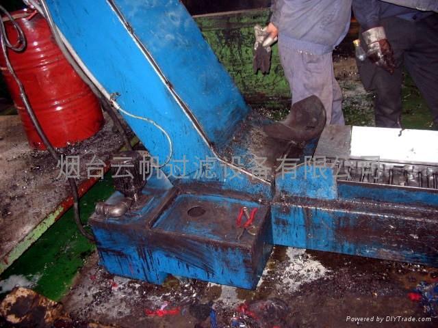 煙台機床切削過濾排屑裝置 2