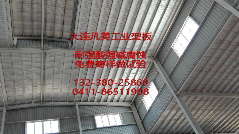 化工廠耐強酸碱腐蝕瓦板 4