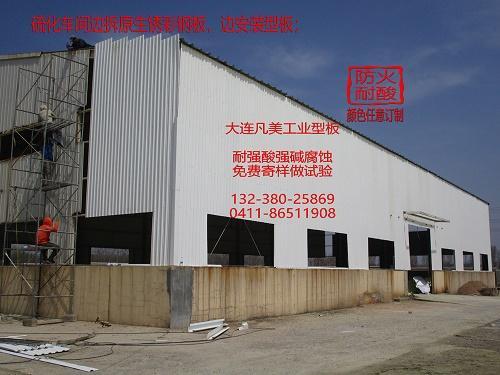 化工廠耐強酸碱腐蝕瓦板 1