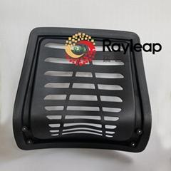开模注塑加工定制塑胶办公椅靠背PP塑料件模具开发注塑大塑胶件