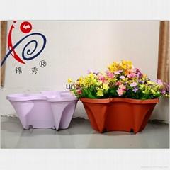 蝴蝶型疊加花盆