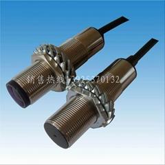 M18圆柱型激光对射型传感器