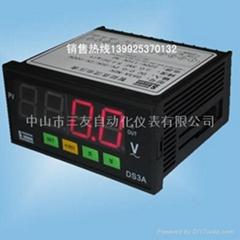 带继电器控制智能电压表