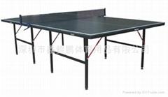 简易乒乒球台出口贸易乒乓球台
