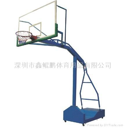 罗湖NBA可移动篮球架 1