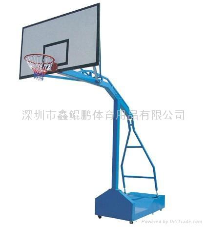 罗湖NBA可移动篮球架 2