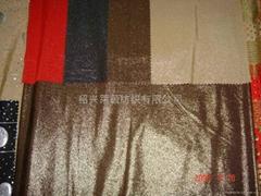 FDY 弹力染色烫金针织布