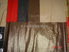 FDY spandex dyeing with foil jersey fabric