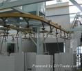 外壳喷粉固化生产线