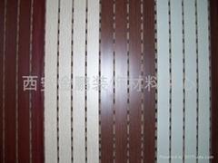 西安木质吸音板