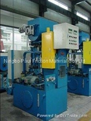 JF600 Preform Press for Pads