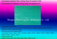 Compressed Non-asbestos Jointing Sheet Oil-resistant
