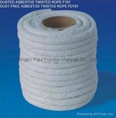 Dust Free Asbestos Twispted Rope