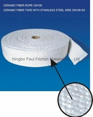 Ceramic Fiber Tape With Stainless Steel Wire