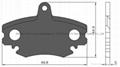 Brake Pad Accessorites WVA 21404