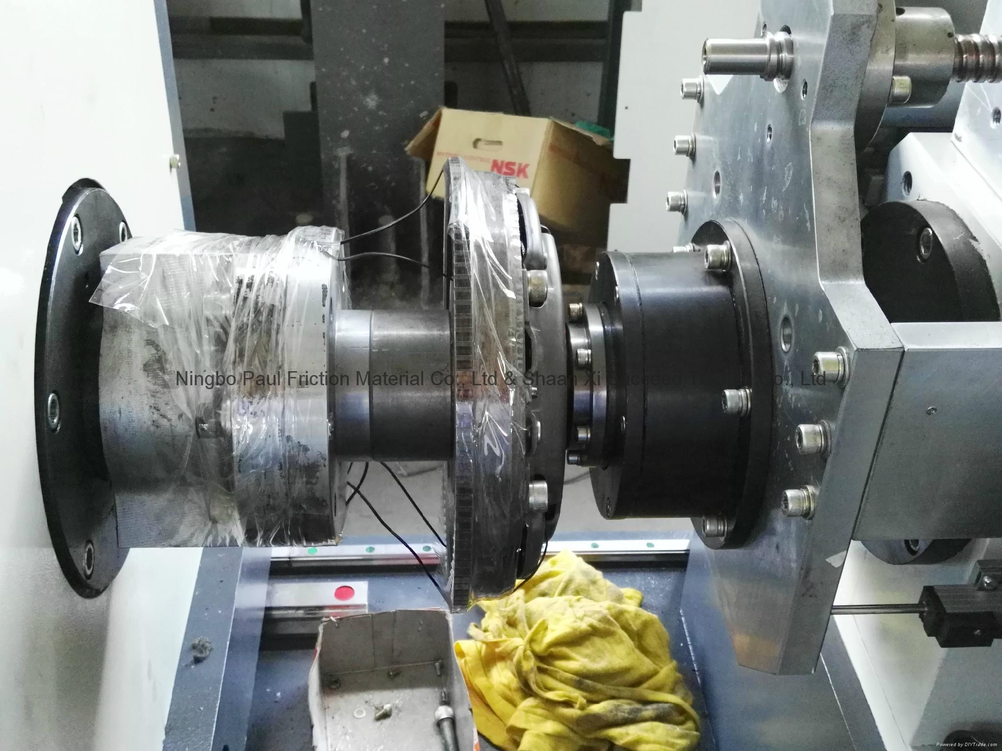 Clutch Facing Inertia Testing Machine 7