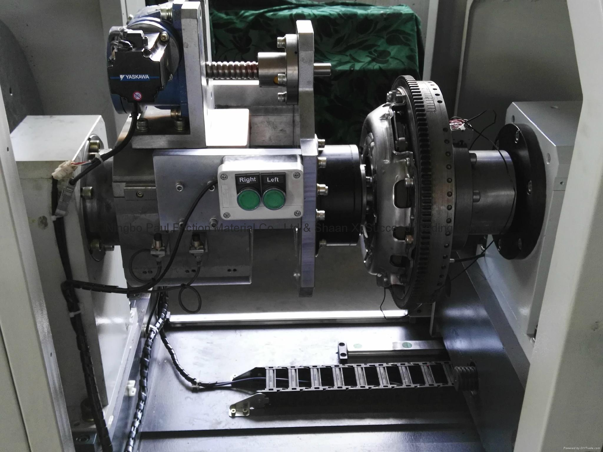 Clutch Facing Inertia Testing Machine 9
