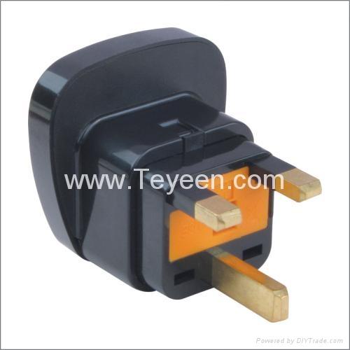 英式轉換插頭(帶保險管) DYS-7F 3