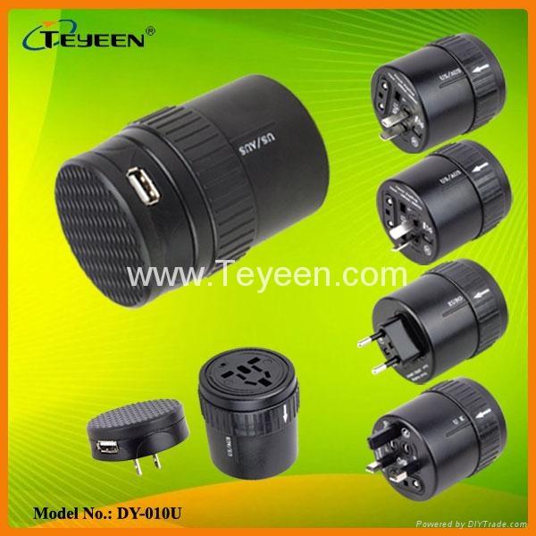 多功能USB充电插座 DY-010U 2