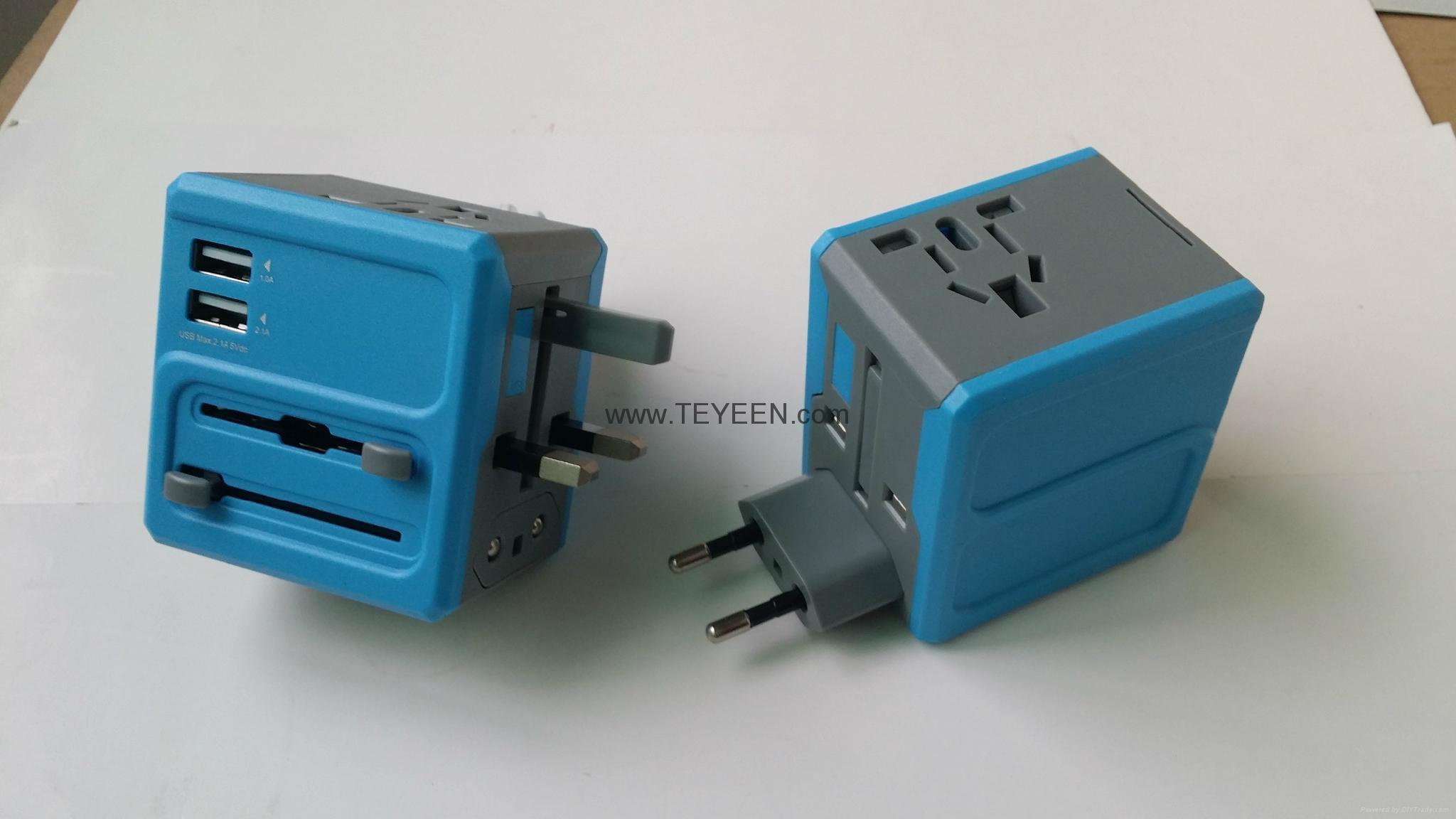 全球通轉換插座 DY-015  8