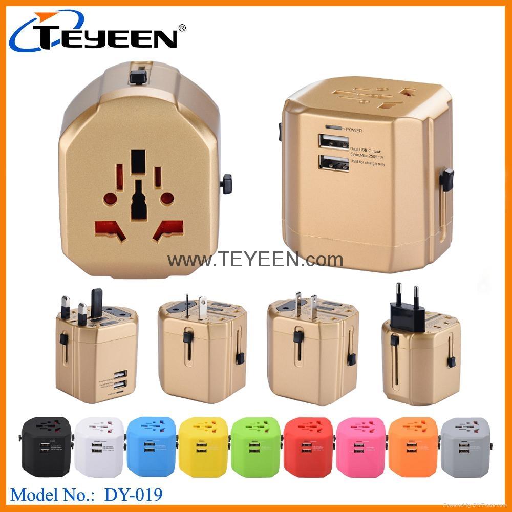 全球通USB充電插座 DY-019 1