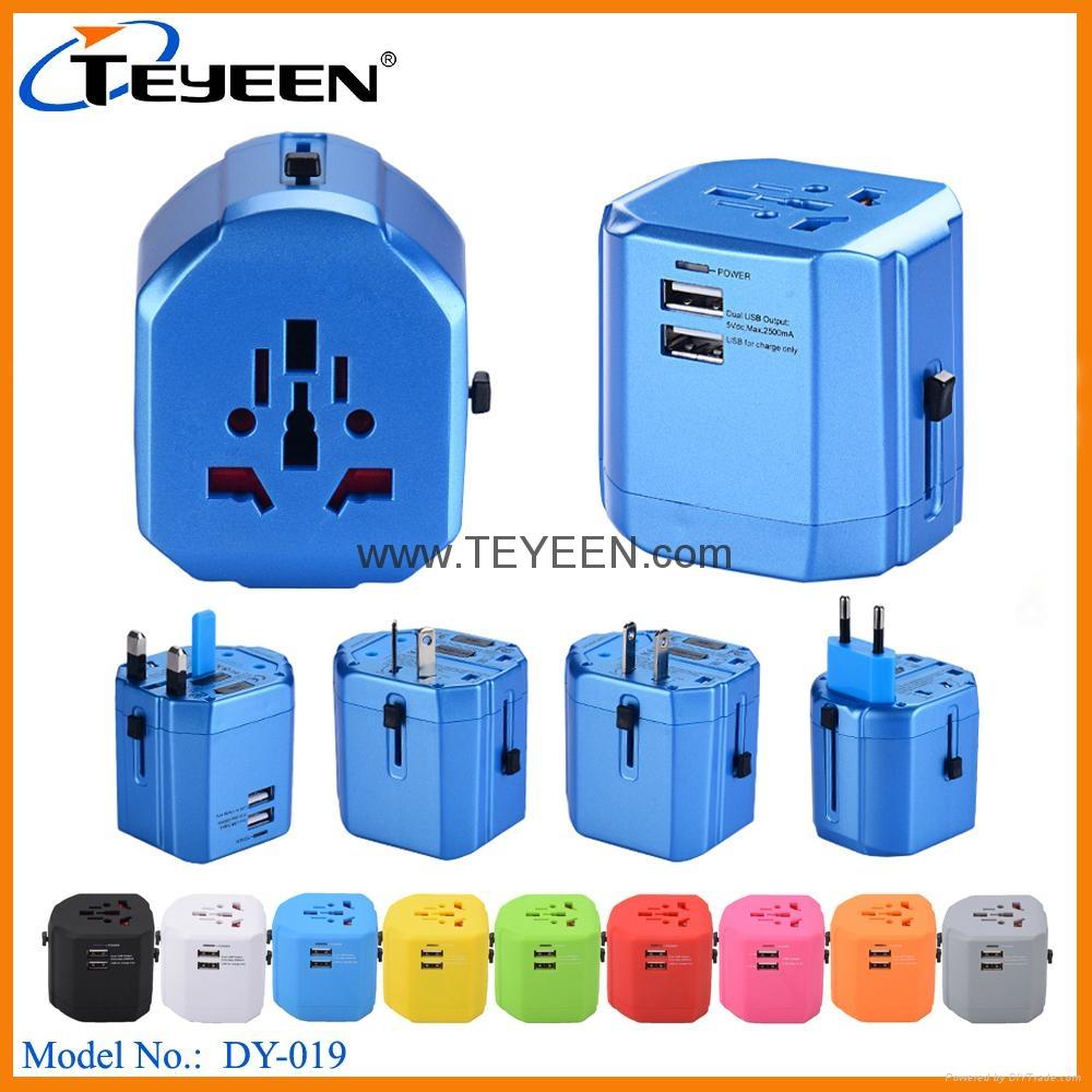 全球通USB充電插座 DY-019 3