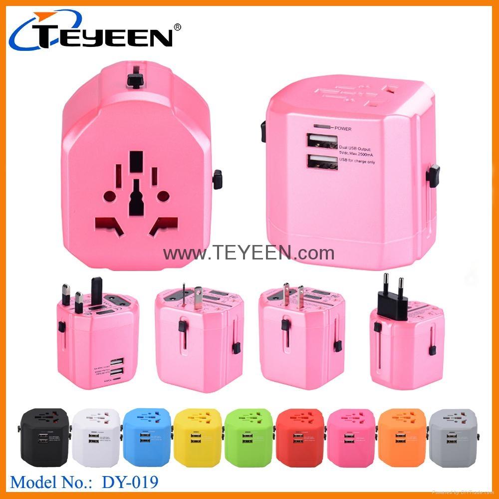 全球通USB充電插座 DY-019 8
