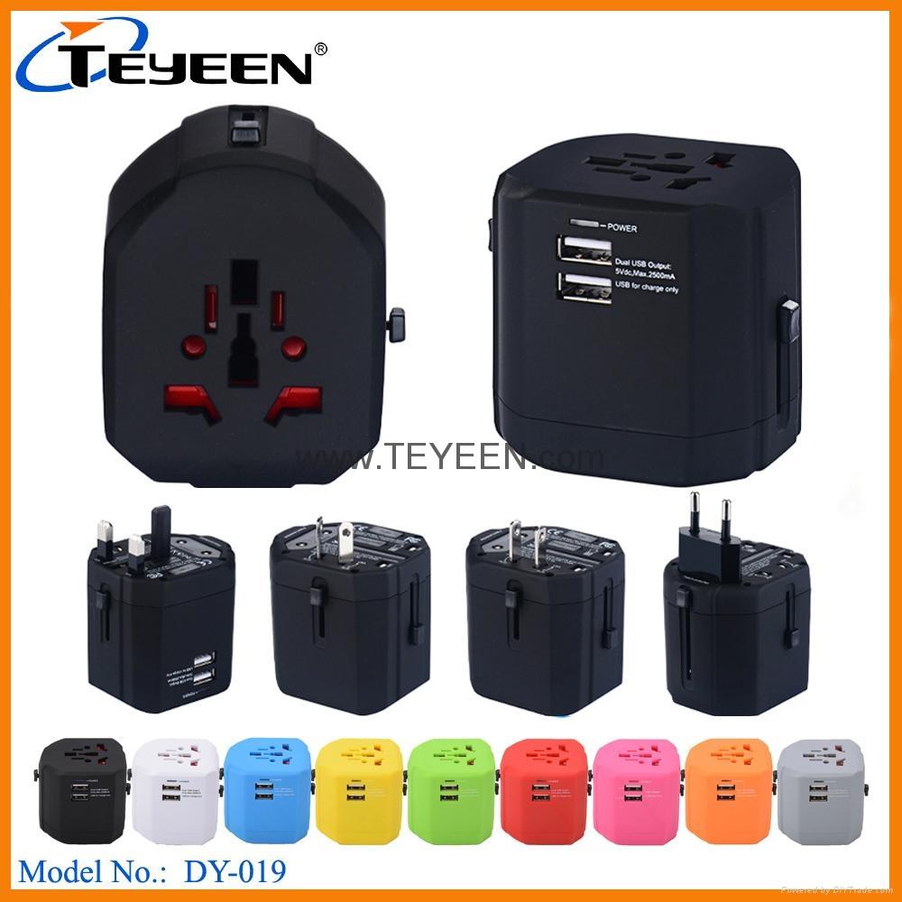 全球通USB充電插座 DY-019 5