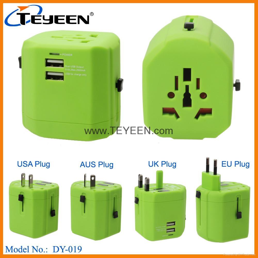 全球通USB充電插座 DY-019 10