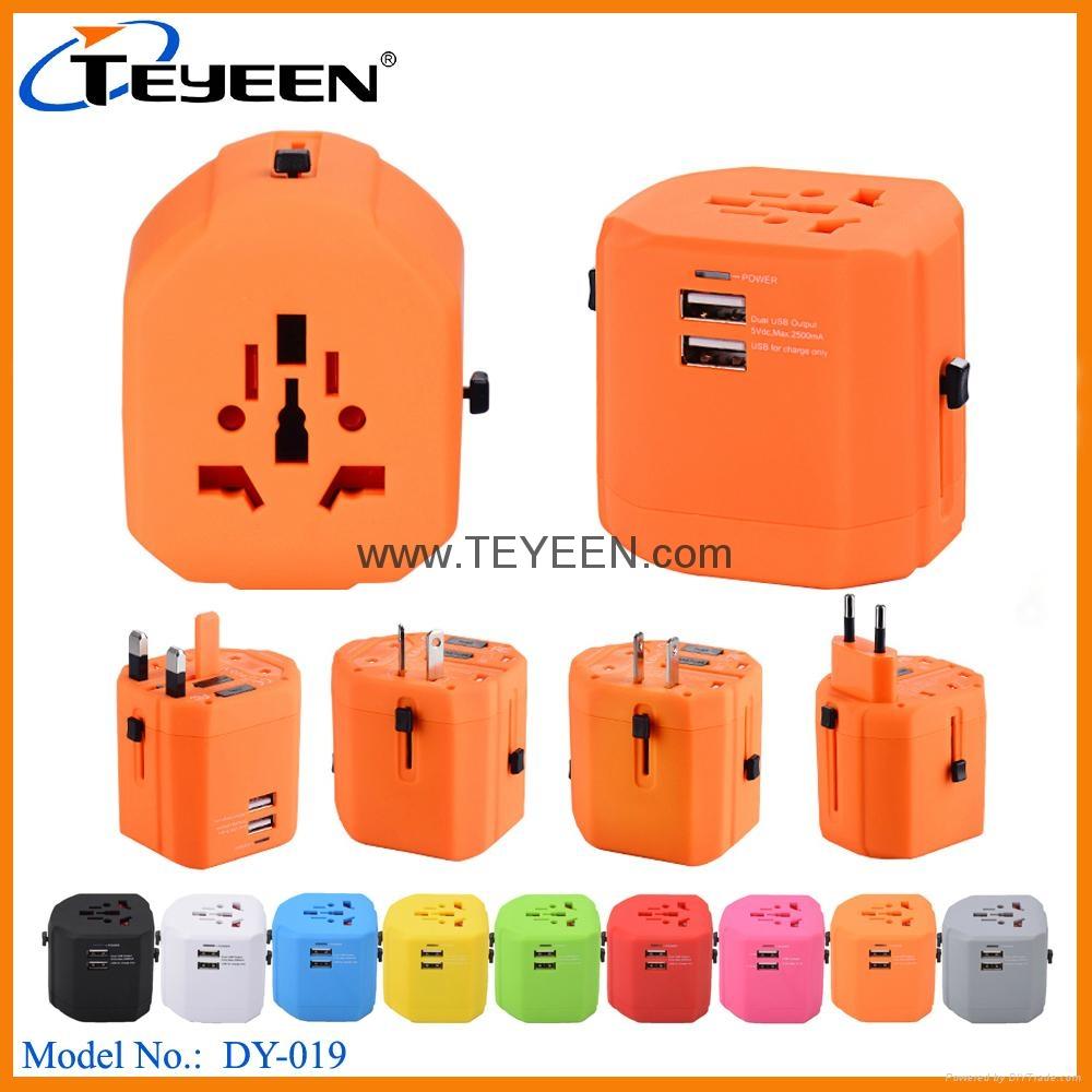 全球通USB充電插座 DY-019 9