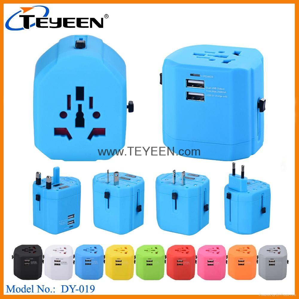 全球通USB充電插座 DY-019 4