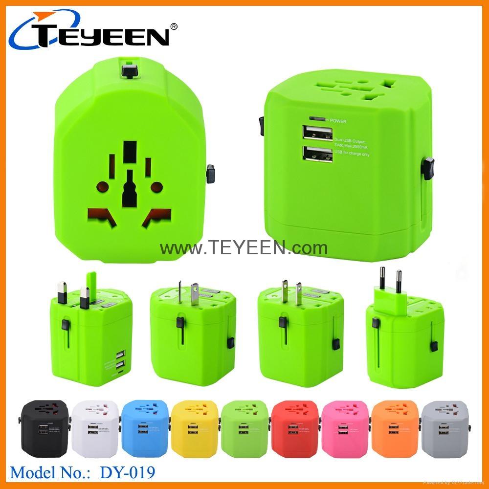 全球通USB充電插座 DY-019 7