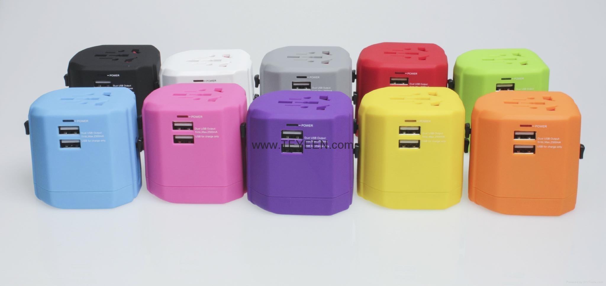 全球通USB充電插座 DY-019 15