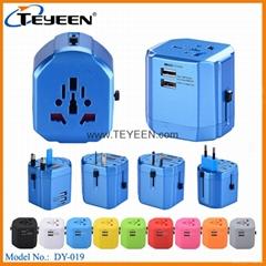 經典款雙USB多功能插頭  DY (熱門產品 - 1*)