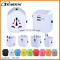 New 2.5A Universal Travel Adapter with