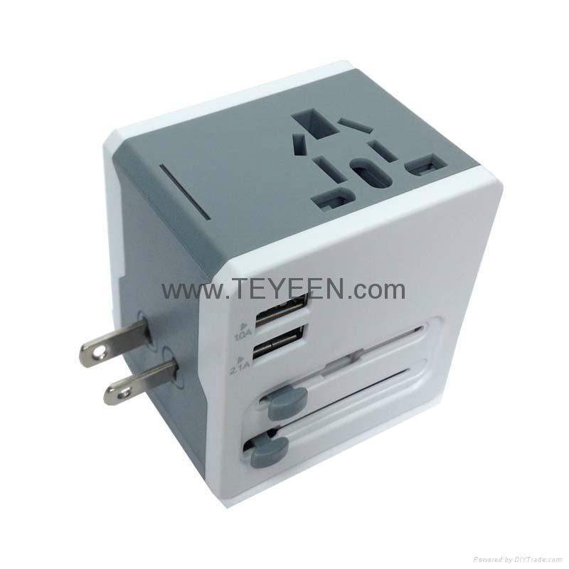 多國通用USB充電禮品插頭 DY-015 10